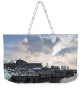 Winter In Philly Weekender Tote Bag