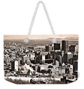 Winter In The City ... Weekender Tote Bag