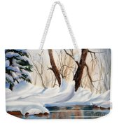 Winter In The Valley Weekender Tote Bag