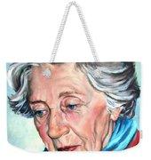 Winter Portrait Sophia Weekender Tote Bag