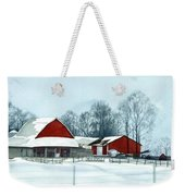 Winter Respite In The Heartland Weekender Tote Bag