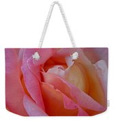 Winter Rose Weekender Tote Bag