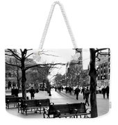 Winter Setting Sun Weekender Tote Bag