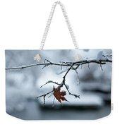 Winter Solo Weekender Tote Bag