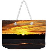 Winter Sunset I Weekender Tote Bag