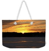 Winter Sunset II Weekender Tote Bag