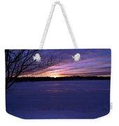 Winter Sunset IIi Weekender Tote Bag