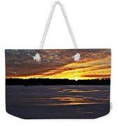 Winter Sunset Iv Weekender Tote Bag