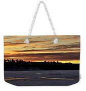 Winter Sunset V Weekender Tote Bag