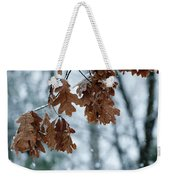 Winter Takes Hold Weekender Tote Bag
