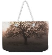 Winter Tree On A Frosty Morning, County Weekender Tote Bag