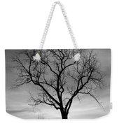 Winter Tree Silhouette Weekender Tote Bag