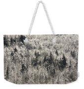 Winter Trees Covered In Ice Weekender Tote Bag