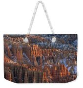 Winter View Of Bryce Canyon National Weekender Tote Bag