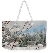 Winter Woods Weekender Tote Bag by Joann Vitali
