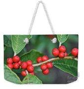 Winterberry Weekender Tote Bag