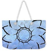 Winter's Flower Weekender Tote Bag