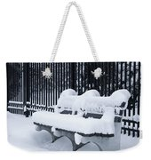 Winter's Quiescence Weekender Tote Bag by Dale Kincaid