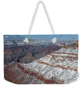 Winter's Touch At The Grand Canyon Weekender Tote Bag