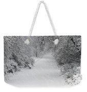 Winter's Trail Weekender Tote Bag
