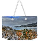 Wintry Dusting Weekender Tote Bag