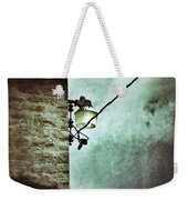 Wires On House In Storm Weekender Tote Bag