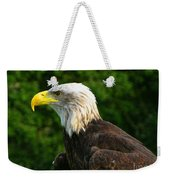 Wisconsin Bald Eagle Weekender Tote Bag