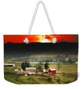 Wisconsin Farm Weekender Tote Bag