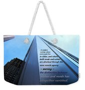 Wishes And Needs Weekender Tote Bag