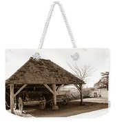 Wiston Wagon Shed Weekender Tote Bag by Dawn OConnor