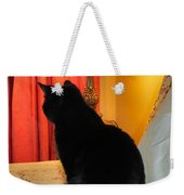 Witches Cat Weekender Tote Bag