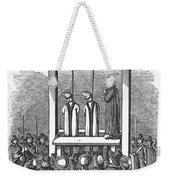 Witches: Execution, 1692 Weekender Tote Bag