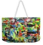 With Heavenly Assistance Weekender Tote Bag