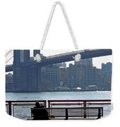 With Ny In Front Of Me Weekender Tote Bag