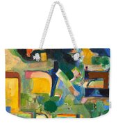 With Patience Weekender Tote Bag
