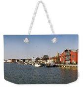 Wivenhoe Waterfront Panorama Weekender Tote Bag