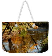 Wolcott River Reflections Weekender Tote Bag