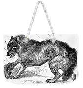 Wolf Attack Weekender Tote Bag