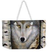 Wolf Beauty Weekender Tote Bag