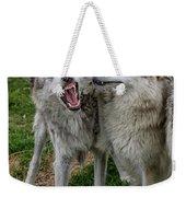 Wolf Confab Weekender Tote Bag