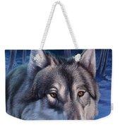 Wolf In Moonlight Weekender Tote Bag