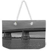 Wolf River Bridge Weekender Tote Bag