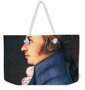 Wolfgang Amadeus Mozart Weekender Tote Bag by Granger
