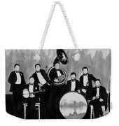 Wolverines Black And White Weekender Tote Bag