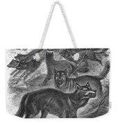 Wolves Weekender Tote Bag