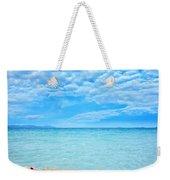 Woman And Ocean Weekender Tote Bag