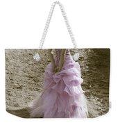 Woman At The Beach Weekender Tote Bag