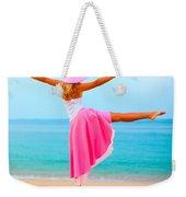 Woman Dancing Weekender Tote Bag