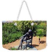 Woman On A Chair Weekender Tote Bag