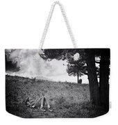 Woman On The Hill Weekender Tote Bag